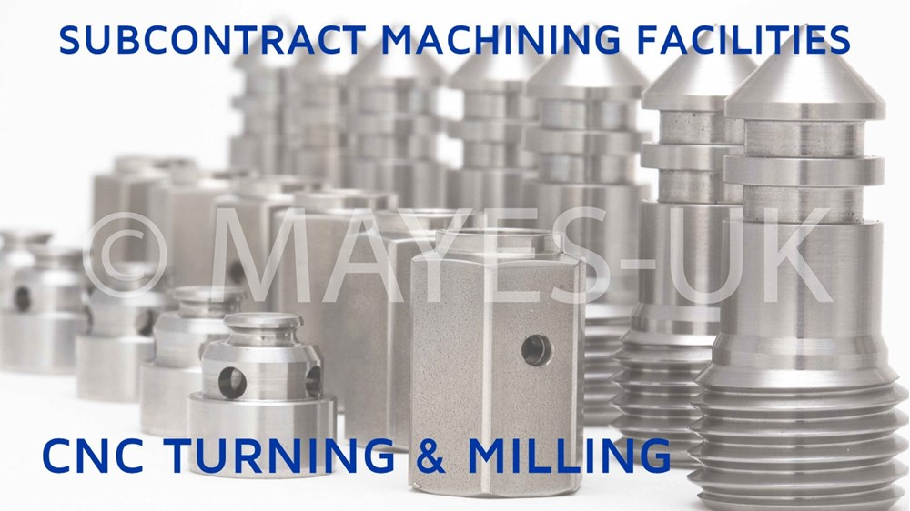 CNC Subcontract facilities available