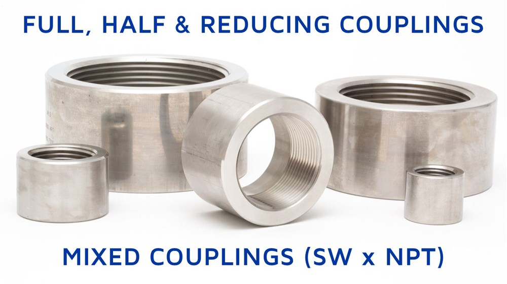 Full, Half & Reducing Couplings